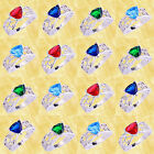 Ruby Spinel & Blue Topaz & Multi-Stone Gems Silver Rings Size 6 7 8 9 10 11 12