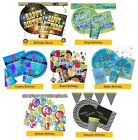 COSMIC BIRTHDAY Party Tableware & Decorations (Hats/Napkins/Balloon/Plates)