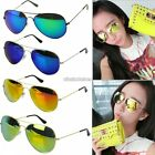 New Unisex Women Men Vintage Retro Mirror Lens Sunglasses Glasses Shades Eyewear