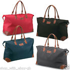 Ladies Large Overnight Travel Weekend Hand Luggage Bag - Holdall Carry Shoulder