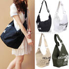 New Mens Womens Travel Messenger Canvas Shoulder Beach Picnic Retro Satchel Bag