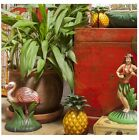 Cast Iron Pineapple Door Stop and Bookends Retro Food Fruit Style Colourful