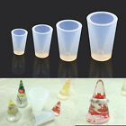 Transparent Silicone Ring Holder Mold Cone Shape Mould DIY Handcraft  Handmade