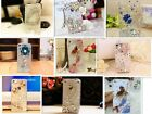 Cute Luxury Bling Crystal Diamond Flower Hard Case Cover for iPhone, Samsung ,LG