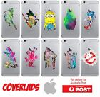 iPhone Silicone Cover Case Popular Cartoon Movie Water Colour Render - Coverlads $14.95 AUD