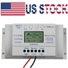40A LCD PWM Solar Panel Regulator Charge Controller 12V/24V  3 Timer
