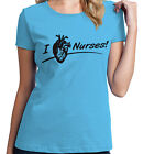 I Heart Nurses, shirts for her, gift for nurse, healthcare Funny T-Shirt 13424
