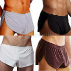 Men Cotton Gym Underwear Boxer Briefs Shorts Bulge Pouch Soft Sport Underpants