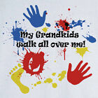 My Grandkids Walk All Over Me Graphic T-Shirt RC11439