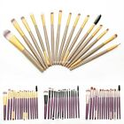 15pc Brushes Set Powder Foundation Eyeshadow Cosmetic Makeup Brush Superior Soft
