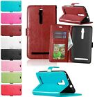 Hot Photo Frame Flip Leather Wallet Stand Soft TPU Case Cover For ASUS Phone
