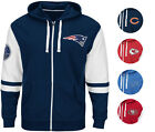 NFL Arm Patch FREE PACE Hoodie Full-Zip Men's BIG & TALL SIZES A11TR