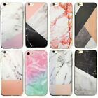 Marble Rock Wood Pattern Thin Gel Case Cover for Apple iPhone 5 5S SE 6 6S Plus