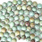 "Green Dragon Blood Jasper Round Beads Gemstone 16"" Strand 4mm 6mm 8mm 10mm 12mm"