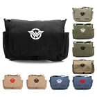 Wonder Woman logo Army Heavyweight Canvas Messenger Shoulder Bag