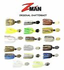 Z-MAN ORIGINAL CHATTERBAIT, 3/8 oz, CHOICE OF COLORS