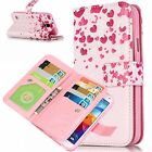 With 9 Card Slots Wallet Flip Magnetic Stand Case Cover For Various Mobile Phone