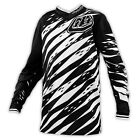 Troy Lee Designs GP Vert Youth MX/Offroad Jersey Black/White