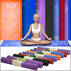 Yes4All Extra Thick PVC 5mm Yoga Mat Gym Exercise Non Slip Washable Pad Printed