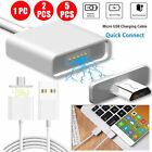2.4A Magnetic Micro USB Charging Cable Adapter Charger For Android Samsung LG