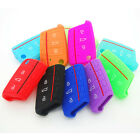 Silicone Car Key Case Cover Shell for Volkswagen VW Golf 7 mk7 Skoda Octavia