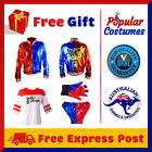 Harley Quinn Suicide Squad Full Set Jacket Shirt Shorts Gloves Halloween Costume