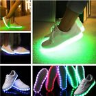 Unisex Hot LED Light Luminous Shoes Sneaker Colorful Glowing  Lace Up Sportswear