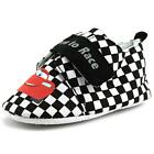 Disney Pixar Cars Lightning Crib Shoe Infant Round Toe Synthetic Black Slipper
