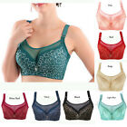Sexy Women Underwire Lace Bra Push Up Brassiere 36 38 40 42 44 Cup Size C D