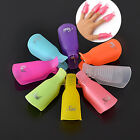 5pcs/set Nail Art UV Gel Polish Remover Wraps Soak Off Cap Clip  DIY