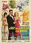Home Wall Print - Vintage Movie Film Poster FROM RUSSIA WITH LOVE  A4 £5.99 GBP on eBay