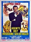 Home Wall Art Print - Vintage Movie Film Poster - GOLDFINGER  BOND - A4,A3,A2,A1 £14.99 GBP on eBay