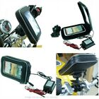 Powered Direct to Battery Motorcycle Bike Mount Bundle for HTC ONE X