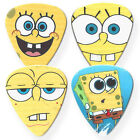 4x Spongebob Squarepants Guitar Picks 0.4mm/0.7mm/0.9mm/Fridge-magnets option