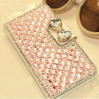 DIY Bling Flip Case for Samsung Galaxy Note 4 SM-N910A N910V N910T N910P N9100