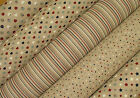 Nautical Range Linen Look Fabric - Curtains Blinds Upholstery Patchwork Quilting