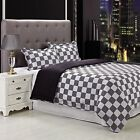 Simple Luxury Fox 3 Piece Reversible Duvet Cover Set