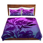 DiaNoche Designs Pocketful Posies Pink Purple Duvet Cover...