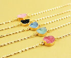 New Fashion Irregular Resin Pendant Chain Bracelet charm Wristband Jewelry