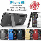 iPhone 6S Iron Armor Phone Case Cover Kickstand Shockproof Rugged Tradesman