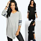 New Women Ladies Long Sleeve O-neck Casual Cotton Fashion T-shirt Tops Blouse