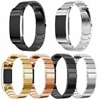 Stainless Steel Accessory Metal Band Watch Strap Bracelet For Fitbit Charge 2