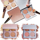 Beauty 4 Colors Cosmetic Glow Kit Glow Gleam Highlighter Powder MakeUp Palette