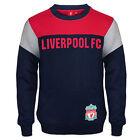 Liverpool FC Official Football Gift Boys Crest Sweatshirt Top