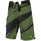 Slippery Arc Neo Mens Boardshorts Black/Green