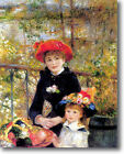 HUGE Renoir Two Sisters on Terrace Stretched Canvas Giclee Repro Print ALL SIZES