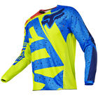 2017 Fox MX Youth 180 Jersey - Nirv Yellow/Blue Kids Motocross Offroad Peewee