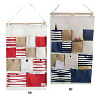 New Style Larger 13 Pockets Wall Door Closet Hanging Storage Bag Organizer Hot