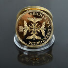 Rare 3rd Reich Nazi German Knights Black Iron Cross WW2 Gold medal   token coin