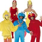 Sesame Street Costume - Elmo Cookie Monster Grande Uccello TV Outfit